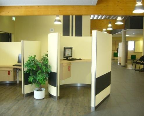 Internetkojen / Medienplätze für Kuhaus