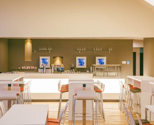 VIP-Lounge Möblierung für Sportstätte